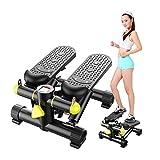 HJHYE Mini Stepper, Step Cardio Fitness Maquina de Subir Escaleras Casa, Ideal para Principiantes, LCD Pantalla Multifuncional, Carga -150KG, Adecuado para Sala De Estar