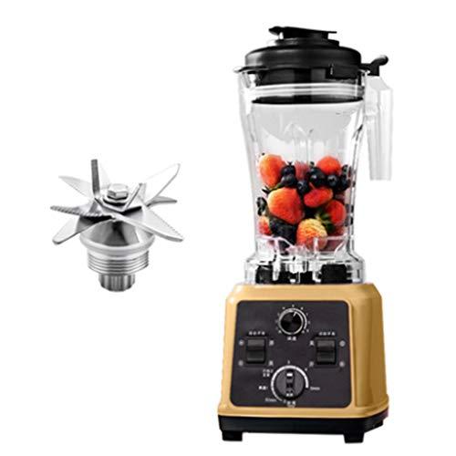 middle Licuadoras Extractor Zumo - Libre PVC - BPA Free Prensado En Frio Cold Press Licuadora Exprimidor Naranjas Frutas - Una Máquina para Ocho Propósitos-1600 W,220 V