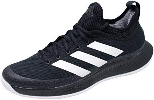 Adidas Defiant Generation Tennis Shoe Chaussures de Tennis pour Homme - - Cblack Ftwwht Ftwwht, 41 1/3 EU