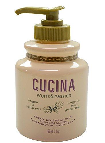 Fruits & Passion - Cucina Regenerating Hand Cream - Oregano & Green Citrus -5 oz