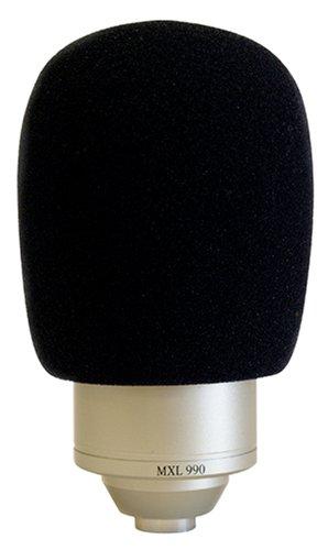 MXL WS002 - Espuma protectora para micrófono de estudio Grill 990, 960, 992 y 770