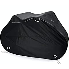 QUALITY YOU CAN TRUST! - This heavy duty waterproof material will offer constant protection for your bikes indoor or outdoor: yard - patio - garage - apartment - house. **NOT DESIGNED TO BE USED ON CAR RACKS WHILE TRAVELING** EFFECTIVE in any weather...