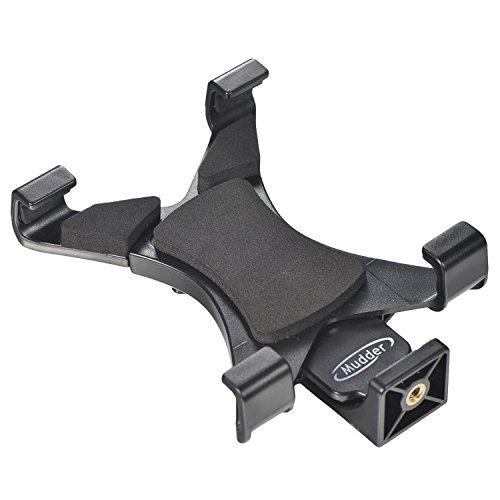 Universal Tablette Trépied Adaptateur de Montage pour iPad, Samsung Tab et Autres Tablettes - Utilisation sur des Manfrotto, Selfie Bâton