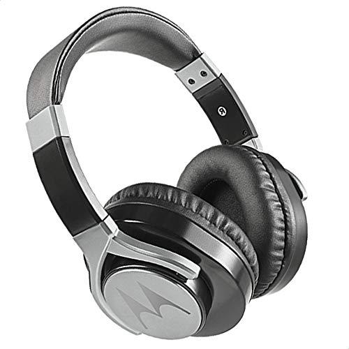 Fone de Ouvido Pulse Max com Fio e Microfone, Motorola, SH004, Preto