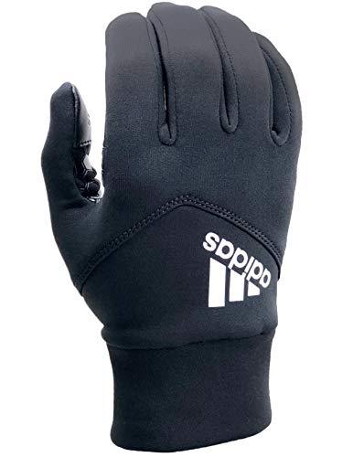 adidas Shield 3.0 Running Gloves, Black - Medium/Large