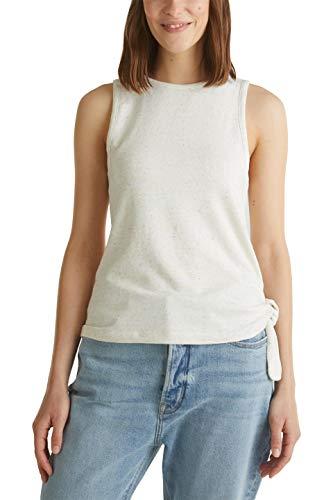 edc by Esprit 050CC1K303 T-Shirt, Bianco (110), XL Donna