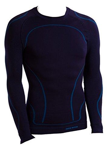 Gatta Gat T-Shirt L 02 Men – sous-Vêtement Fonctionnel thermoactive Seamless Technology - Bleu - X-Large