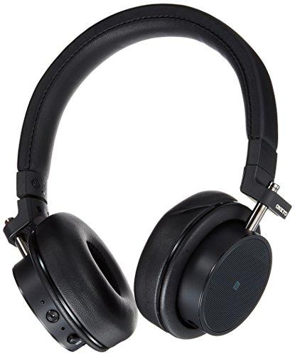 Onkyo Sellado Auriculares inalámbricos con Bluetooth/NFC Apoyo/Mando a Distancia con micrófono h500btb (Negro)