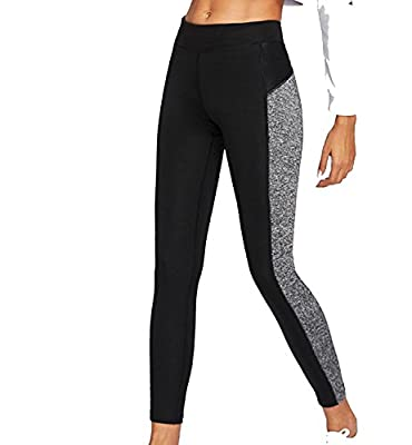 Zesteez Women's 4 Way Stretchable Soft Handfeel Fabric Sports Leggings for Gym Activewear