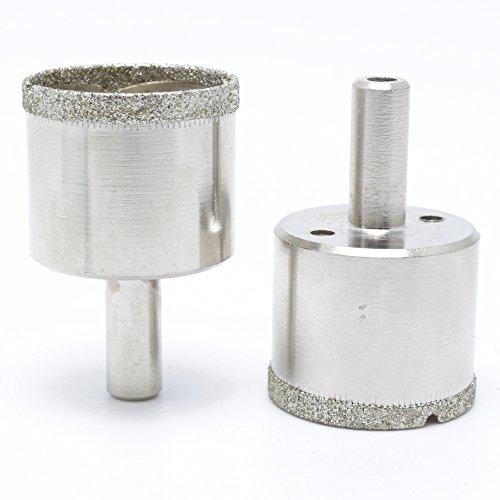 ILOVETOOL Diamond Hole Saws Set 36mm Drill Bits for Glass Tile Pack of 2 Pcs