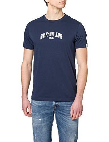 REPLAY M3390 .000.23046P Camiseta, 575, XL para Hombre
