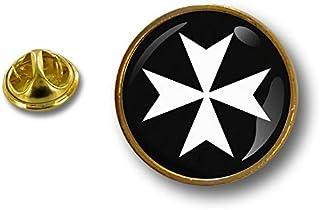 Spilla Pin pin's Spille spilletta Giacca Bandiera Badge templare Templari r3