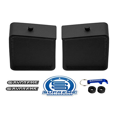 Supreme Suspensions - 5' Rear Lift Blocks Kit for 1997-2003 Ford F-150 2WD 4WD -...