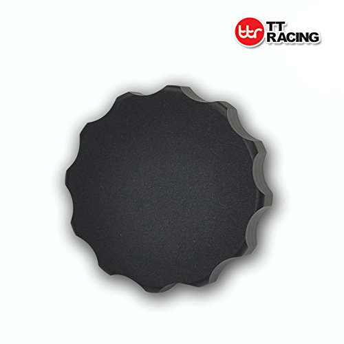 Aleación de aluminio Billet tapón del radiador negro Cap para Honda Nissan Subaru Mitsubishi