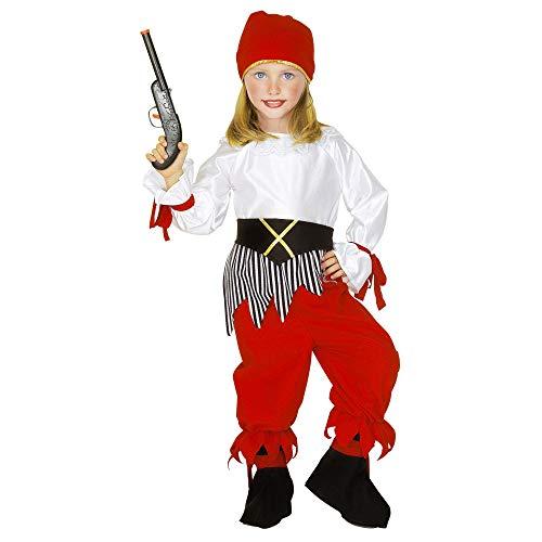 Widmannmannmannmannmann piraten, Korsari en Bucanieri kostuum voor kinderen, meerkleurig, 116 cm / 4-5 Years, 43805