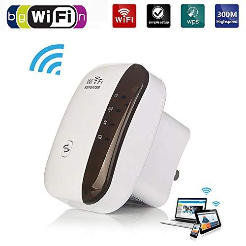 RHG Router WiFi inalámbrico: Extensor de Rango WiFi, Extensor de señal de Red para Alta Velocidad/configuración fácil del Amplificador de señal