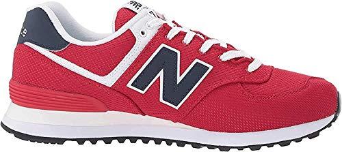 New Balance Herren 574v2 Sneaker, Rot (Red/Navy Sch), 41.5 EU