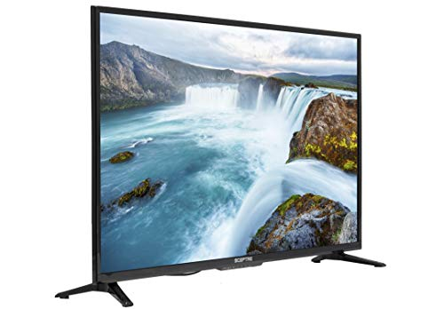 Sceptre 40 inch 1080p HDMI LED Display, Metal Black 2018 (X415BV-FSRR)