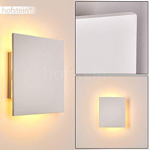 Collegno keramische wandlamp in wit, wandlamp met lichteffect, 2 x E14 stopcontacten, max. 40 Watt, interieur wandlamp kan met standaard kleuren worden geschilderd
