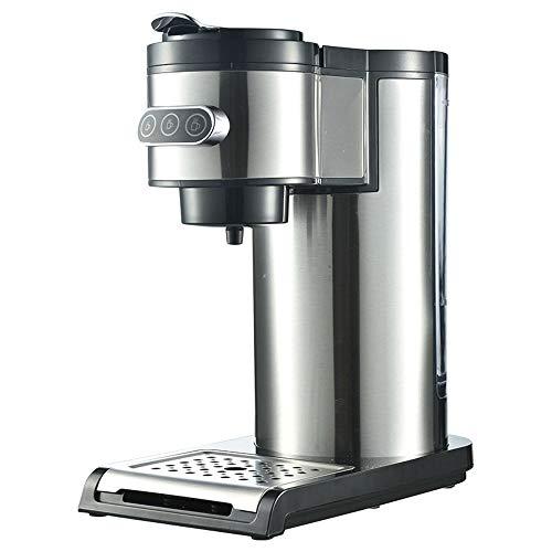 JJCFM Koffiemachine, koffiezetapparaat, beweegbare K-Cup-capsule koffie, capsule-/koffiepoeder, dubbel doel, voor thuis/zak/kantoor, 1000 W