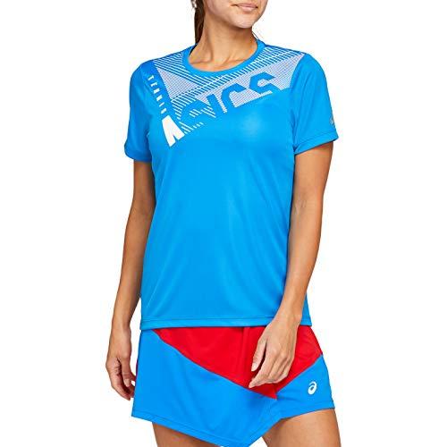 Asics Practice W GPX tee Camiseta, Mujer, Electric Blue, S