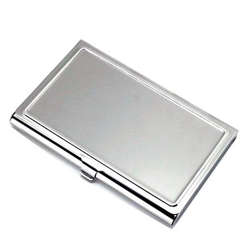 ステンレス製 SUSカードケース シルバー (ステンレス ツヤ磨き仕上げ) 1個パック【ネコポス発送】