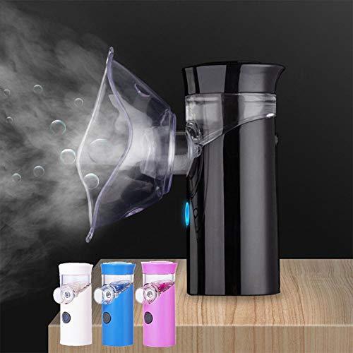 YUXINCAI Ultrasone luchtbevochtiger, 25 ml, aromatherapie, diffuser voor etherische oliën, luchtreiniger met 4 kleuren voor lichttherapie in huis, kantoor, spa, baby
