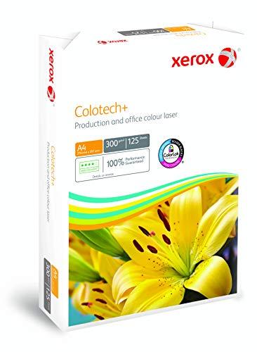 Xerox Colotech+ Premium Papier, 300 g/m², A4, 125 Blatt, weiß