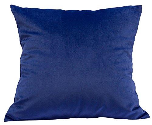 TangDepot Solid Velvet Throw Pillow Cover/Euro Sham/Cushion Sham, Super Luxury Soft Pillow Cases,...