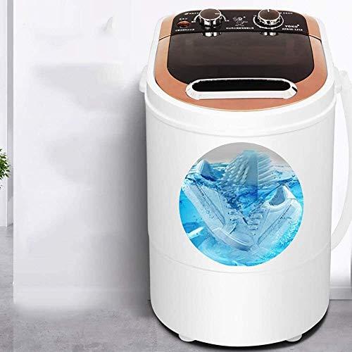 LAZNG Tragbare Mini-Waschmaschine Smart-Rotating Schuh Waschen, Easy On/Off Taste for einfache Bedienung Tief Reinigung, Speicher Effort Blu-Ray SterilizationFor Apartments, Weihnachtsgeschenke