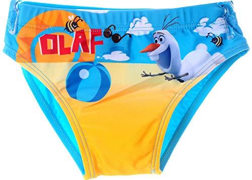 Badehose Olaf Frozen Schwimmhose Bade Hose Höschen Kinder Slips Höschen Disney (5J - 104/110)