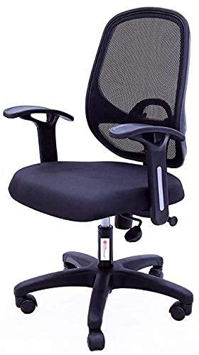 Casa Copenhagen ES Super Delux Chairs Umbrella Base Office Chair (Dark Black)