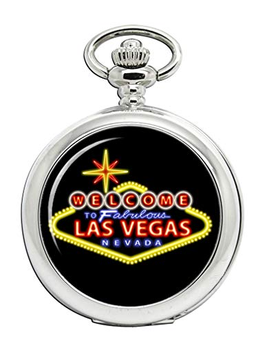 Las Vegas Alta rodillos Full Hunter reloj bolsillo