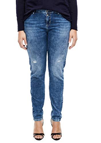 TRIANGLE Damen 301.10.003.26.180.2036188 Jeans, medium Blue, 46/32