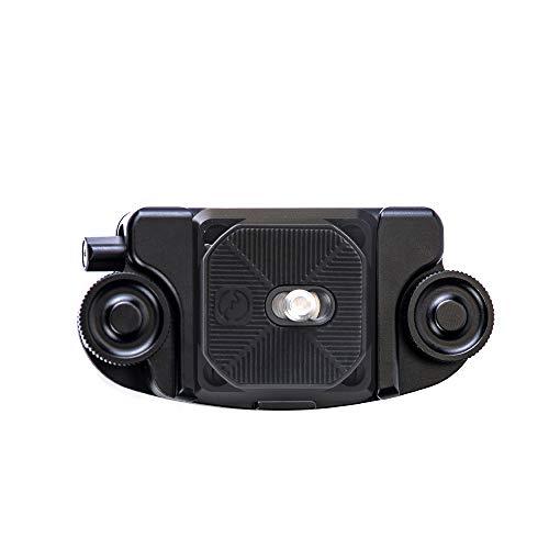 SWFOTO CQC-01 一眼レフカメラ クイックリリースクランプ ショルダープレート用クリップ ウエストクリップ ベルトクリップ