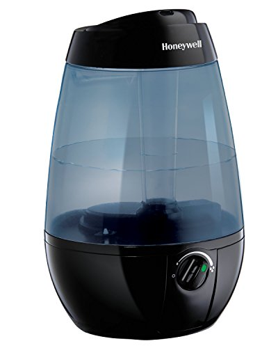 Honeywell HUL535B Cool Mist Humidifier Black Filter Free with Auto Shut-Off & Variable Settings for...