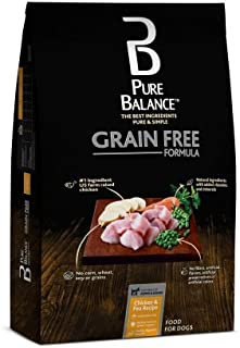 Pure Balance Grain Free Chicken & Pea Recipe Dry Dog Food, 24 lbs