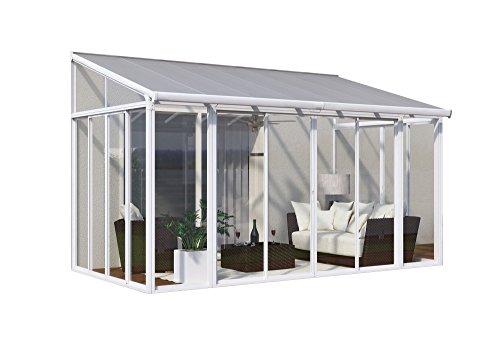 Palram Veranda San Remo Wintergarten, weiß, 295 x 425 x 310 cm