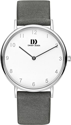 Danish Design Damen Analog Quarz Uhr mit Leder Armband DZ120588