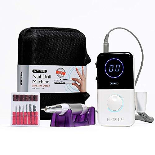 NATPLUS Professional Portable Nail Drill Machine