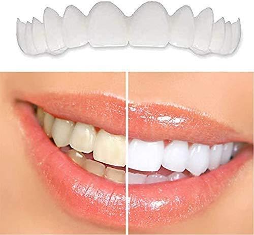 ASHTRAY Ober- und Unterzahn Furnier Bleaching Okklusal Lächeln Zähne Schönheit Prothese Prothese Abdeckung Mundhygiene Werkzeug,5pair