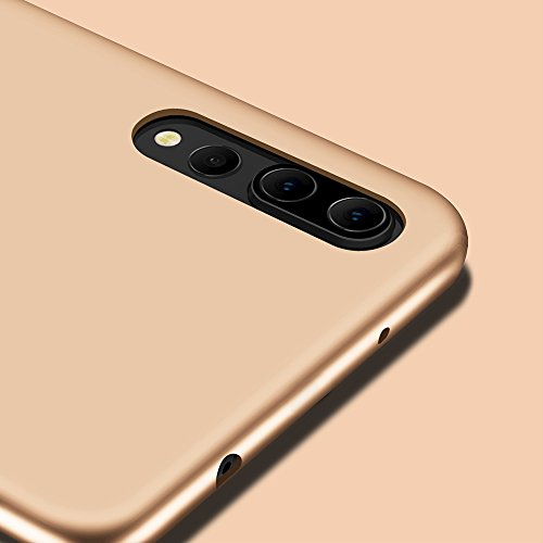X-level Huawei P20 Pro Hülle, [Guadian Serie] Soft Flex Silikon Premium TPU Echtes Telefongefühl Handyhülle Schutzhülle für Huawei P20 Pro Case Cover - Gold - 4