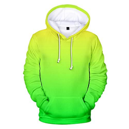 Fun-Sweatshirts für Herren Sport Shirt Men 3D In-Print Hooded Kapuzenpullover Herren Hoodie Spring Coat Sweat Lose für Täglichen Tragen Im Freien-Farbverlauf_08_XL fsz-258