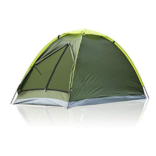 Jie Guo outdoor producten met dubbele vrijetijds-campingtent, outdoor wind, regen, zonwering, eenvoudig te openen tent met eenlaags Oxford-doek, glasvezel, ronde tent om te bouwen