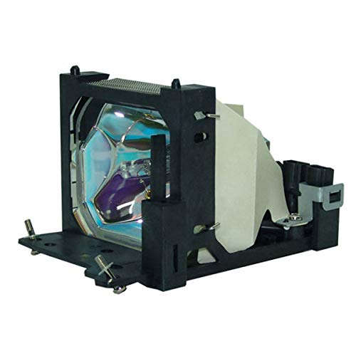 Emazne DT00431 Professional Projector Replacement Compatible Lamp with Housing Work for Hitachi:CP-HX2000 Hitachi:CP-S370 Hitachi:CP-S370W Hitachi:CP-X380 Hitachi:CP-X380W CP-X385 CP-X385W CPS380W