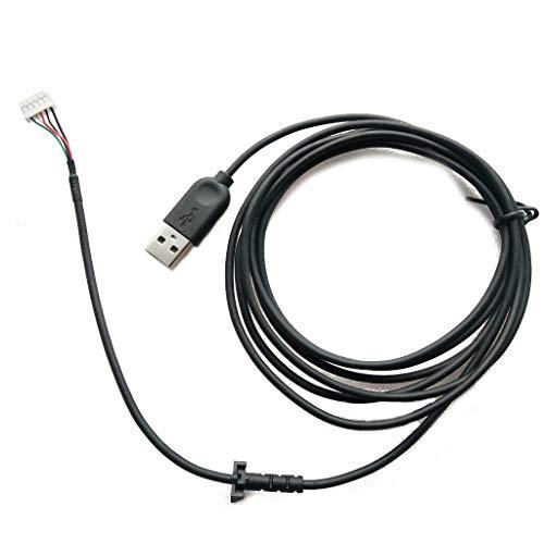 chenpaif USB Soft Mouse Cable Line Fil de Remplacement pour Logitech G402 Hyperion Fury Mouse