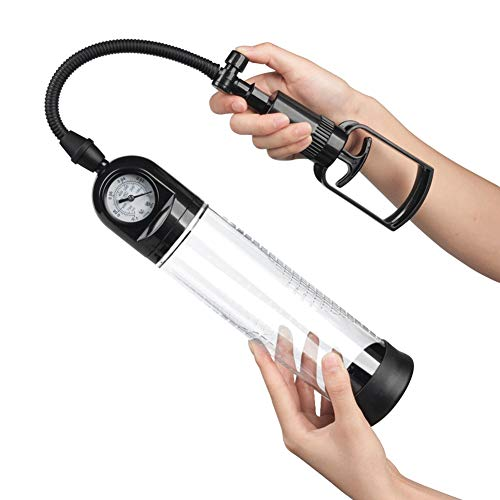 Zadovo Self-Pleasùre Manual Vacuum Pump Pennis Enlargers Pump Pressure Toys Male Training Sleeve Growth of Real Ᵽússy