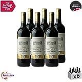 Château Noblet Rouge 2014 - Appellation AOC Côtes de Bourg - Vin Rouge de Bordeaux - Cépages Merlot, Cabernet Sauvignon - Lot de 6x75cl - Médaille d'Or Concours de Bordeaux