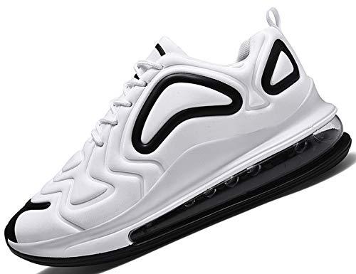 SINOES 91-23 Unisex Erwachsene Straßenlaufschuhe Sportschuhe Bequem Ultra-Light Laufschuhe Schnürer Turnschuhe Sneakers Modisch Luftkissenschuhe Joggingschuhe Camouflage Mesh Tuch