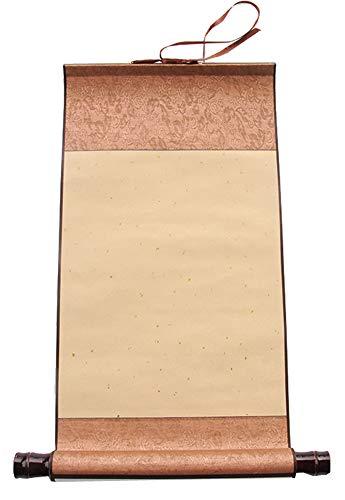 Calligraphie chinoise peinture rouleau de papier de riz antique vierge (50 * 27 cm), H3